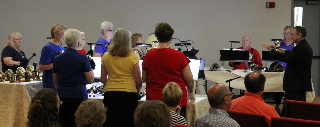 Intermediate Handbells - led by Rick Holdsworth