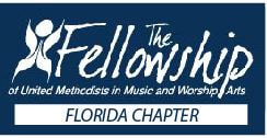 The Florida Chapter of FUMMWA Logo consisting of the Fellowship logo with the addition of the words Florida Chapter beneath the original logo.