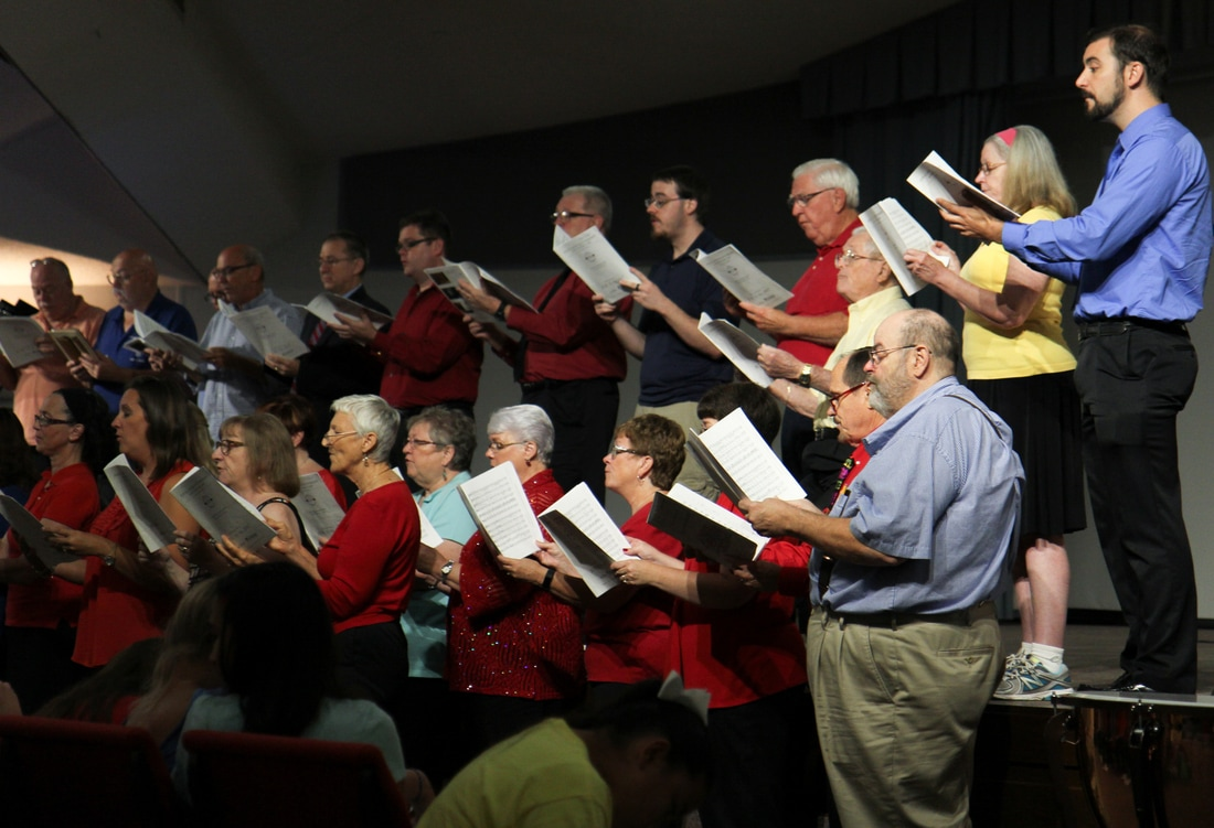 Adult Choir 2- Directed by Dr. Beth Gibbs and accompanied by Tom Huffman