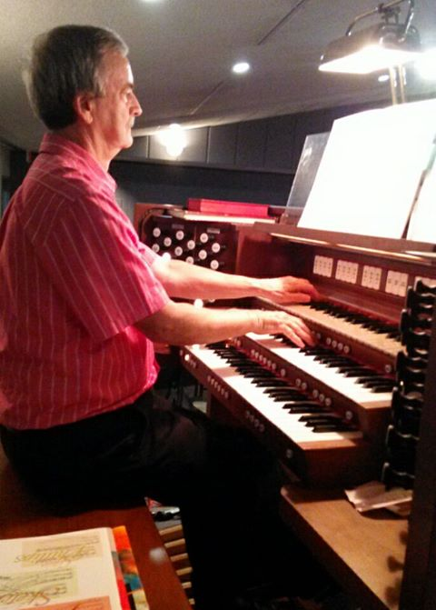 Tom Huffman at the Organ